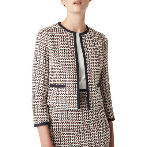 Hobbs London Multi Gianna Tweed Jacket