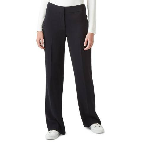 Hobbs London Navy Mina Trousers