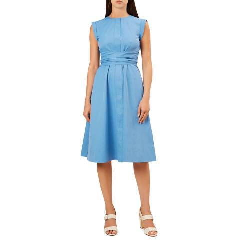 Hobbs London Blue Eloise Dress
