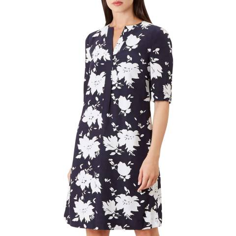 Hobbs London Multi Print Faye Dress