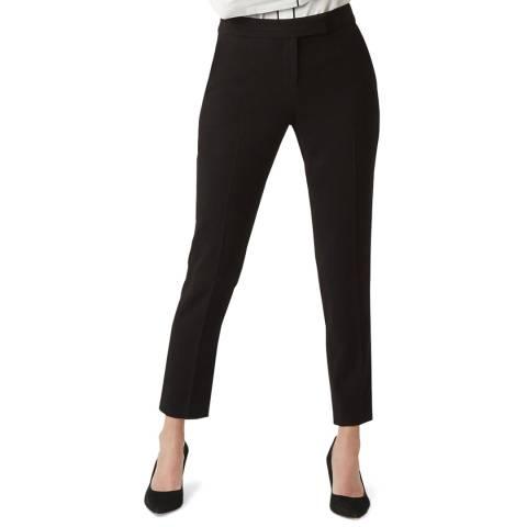Hobbs London Black Petite Anne Stretch Trousers