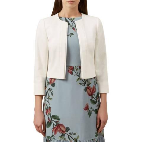 Hobbs London Ivory Meghan Tailored Jacket