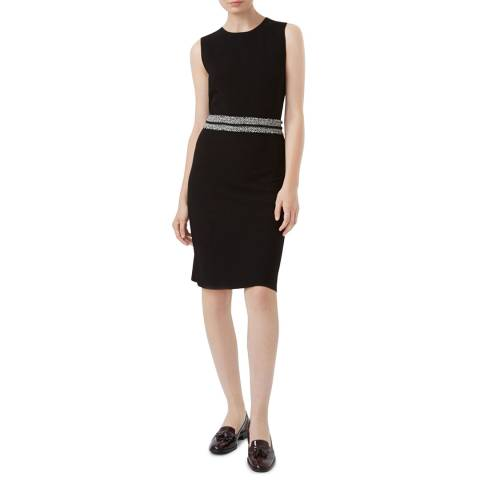 Hobbs London Black Frankie Knitted Dress