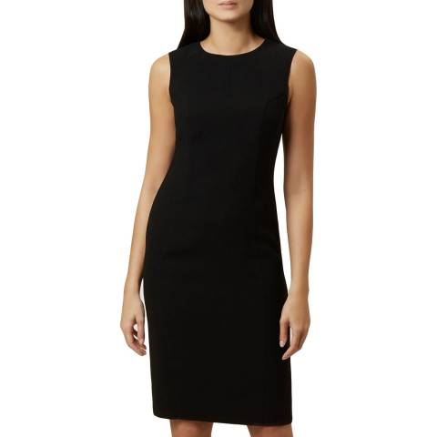 Hobbs London Black Mina Dress