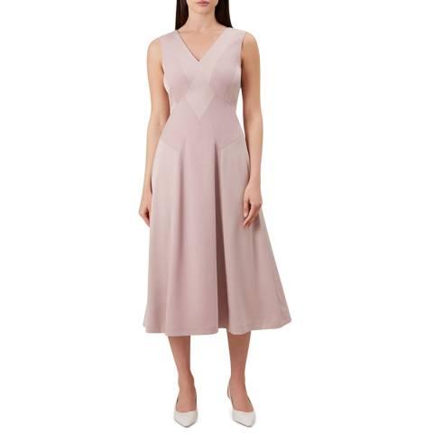 Hobbs London Pink Elaine Dress