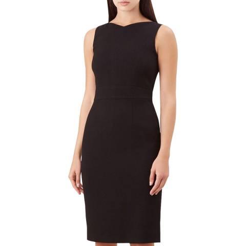 Hobbs London Black Anne Petite Dress