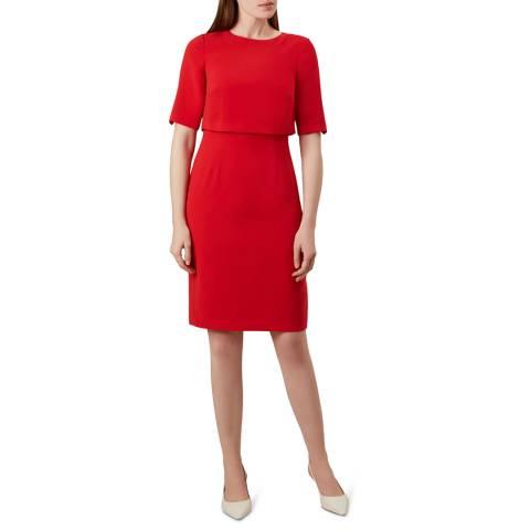 Hobbs London Red Larissa Dress