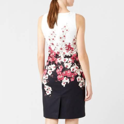 Hobbs London Black Floral Moira Dress