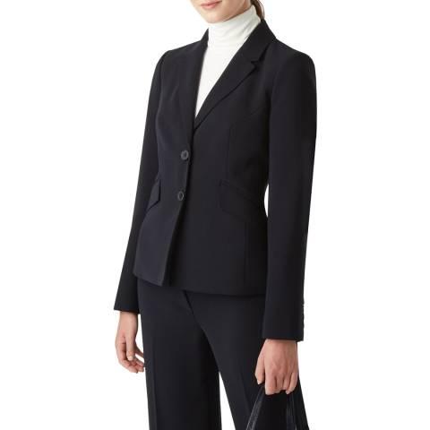 Hobbs London Navy Mina Jacket