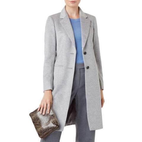 Hobbs London Grey Tilda Wool Coat