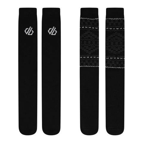 Dare2B Black Thermal Socks Pack