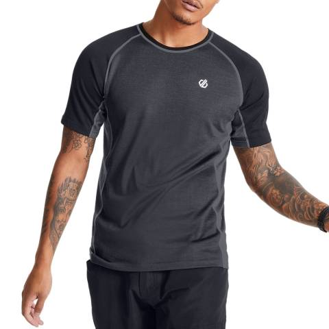Dare2B Grey/Black Conflux Tee