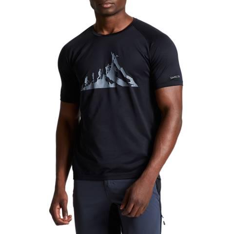 Dare2B Men's Black Righteous II Tee