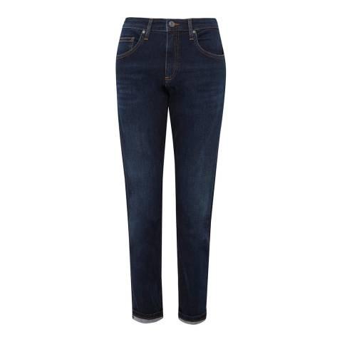 Great Plains Dark Blue Skinny Stretch Jeans