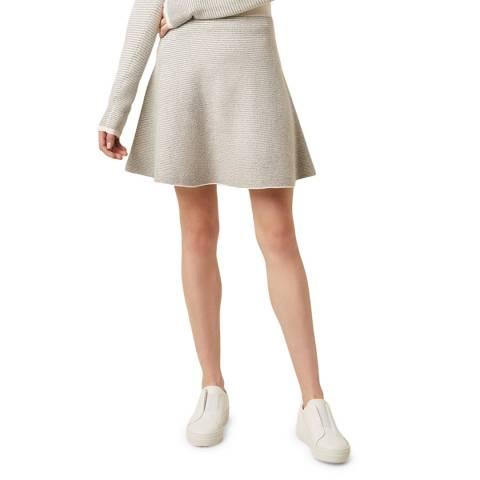 Great Plains Optic White Andelle Knit Skirt