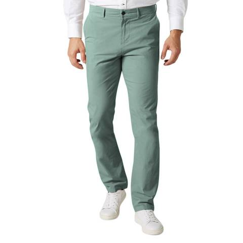 7 For All Mankind Mint Slimmy Stretch Chinos