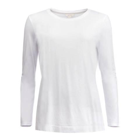 White Stuff White Brushed Layer Jersey T-Shirt