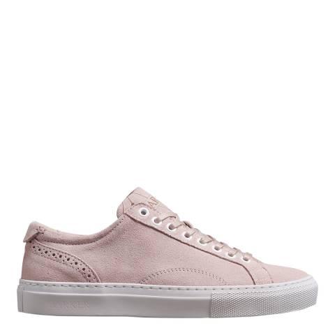 Barker Pink Suede Isla Sneaker