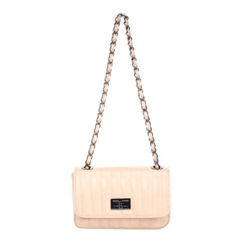 Markese Rose Leather Crossbody Bag