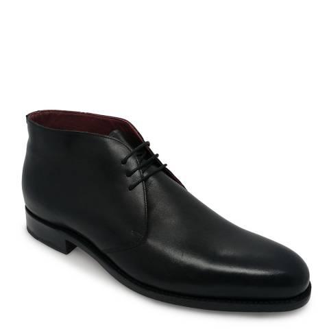 Barker Black Calf Chukka Boot