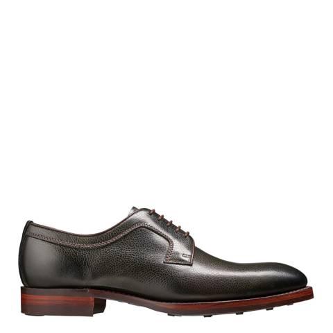 Barker Olive Green Grain Skye Derby Shoe