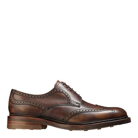 Barker Brown Shadow Calf Kelmarsh Brogue Shoe