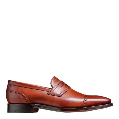 Barker Brown Calf Brahms Brogue Shoe