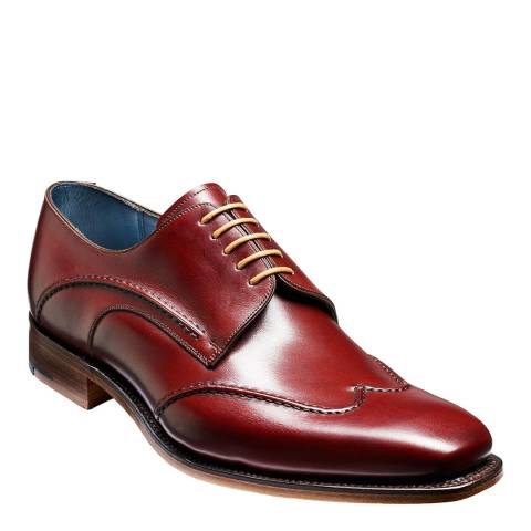 Barker Cherry Calf Brooke Derby Shoe
