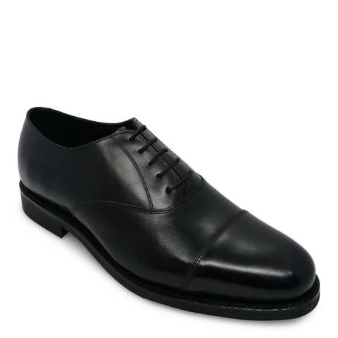 Barker Black Calf Leather Oxford Toe Cap Shoe
