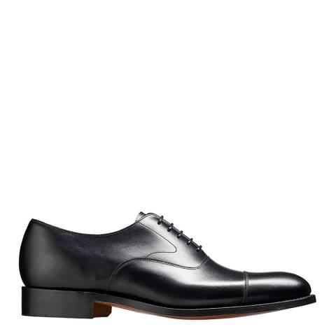 Barker Black Leather Malvern Oxford Shoe
