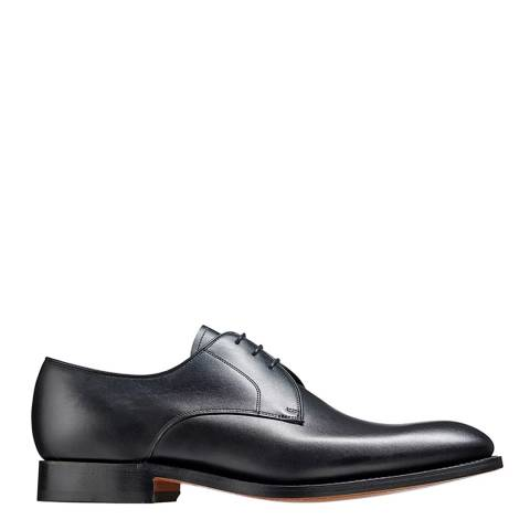 Barker Black Leather March Derby Shoes
