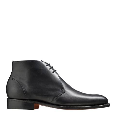 Barker Black Leather Montgomery Chukka Boot