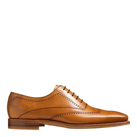 Barker Tan Leather Thomas Oxford Shoe