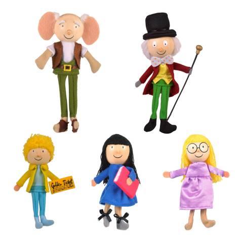 Fiesta Crafts Set of 5 Roald Dahl Finger Puppets