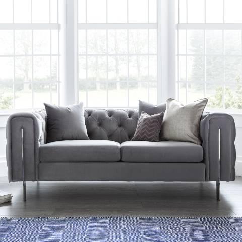 The Great Sofa Company Ritz 2 Seater Sofa Grey