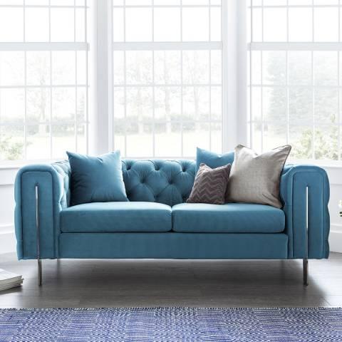 The Great Sofa Company Ritz 2 Seater Sofa Peacock