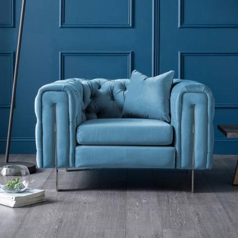 The Great Sofa Company Ritz Chair Peacock