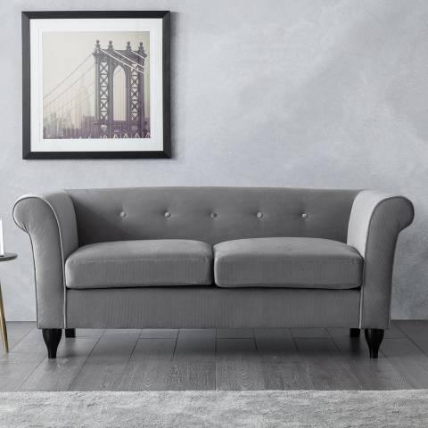 The Great Sofa Company Monty 2 Seater Sofa Grey