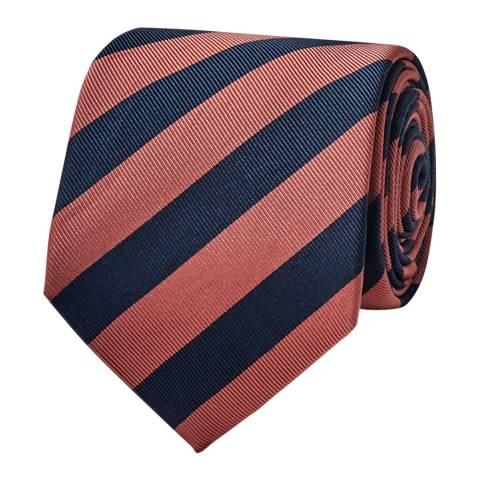 Thomas Pink Pink Bale Stripe Tie