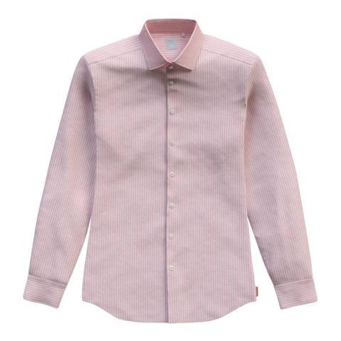 Thomas Pink Pink Stripe Bengal Slim Shirt
