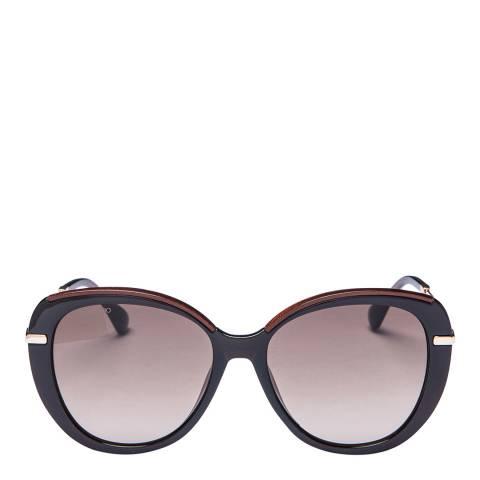 Jimmy Choo Women's Brown/Gold Jimmy Choo Sunglasses 56mm