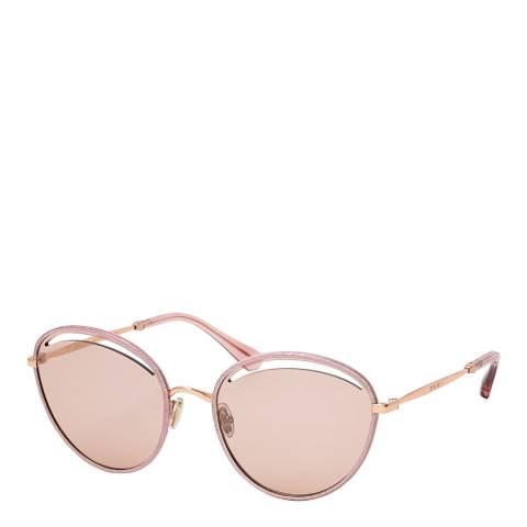 Jimmy Choo Women's Gold/Pink Jimmy Choo Sunglasses 59mm