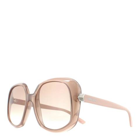 Jimmy Choo Women's Nude Jimmy Choo Sunglasses 56mm