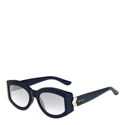Jimmy Choo Women's Navy/Gold Jimmy Choo Sunglasses 52mm