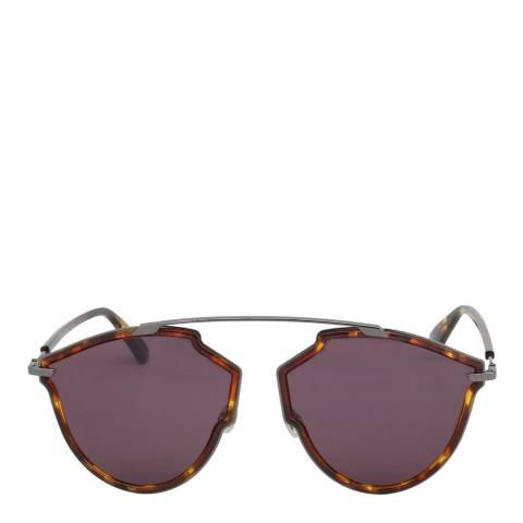 Dior Women's Silver/Brown Sunglasses 58mm