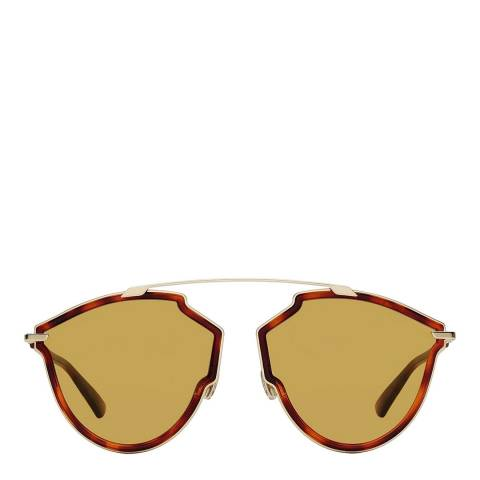 Dior Women's Gold/Brown Sunglasses 59mm