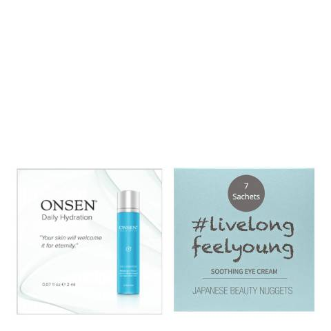 ONSEN COLLAGEN MOISTURIZER - TRIAL KIT