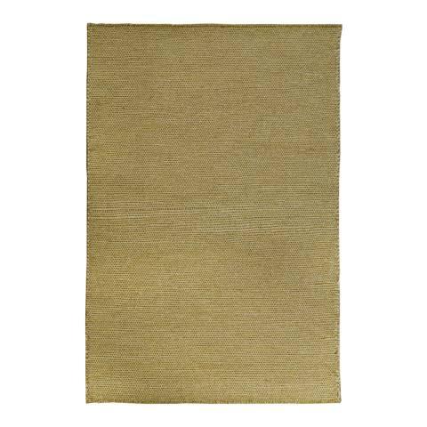 Rug Republic Gold Nordic Wool Rug, 183x122cm