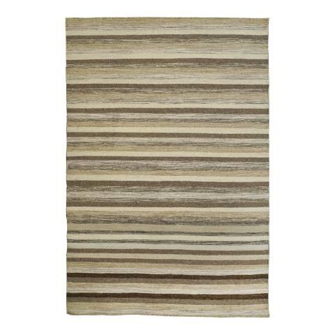 Rug Republic Grey/Multi Nordic Wool Rug, 183x122cm