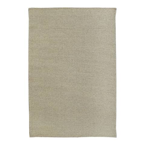 Rug Republic Light Grey Nordic Wool Rug, 183x122cm